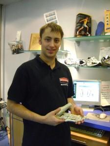 Michael Krämer, Mossautal,  seit 1997 im Betrieb Geschäftsführer