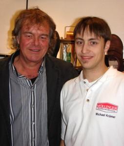 Gunter Möllinger übergibt 2010 seinen Familienbetrieb an Michael Krämer