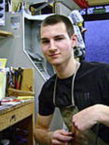 Ricardo Skrobek, Erbach, seit 2011 im Betrieb