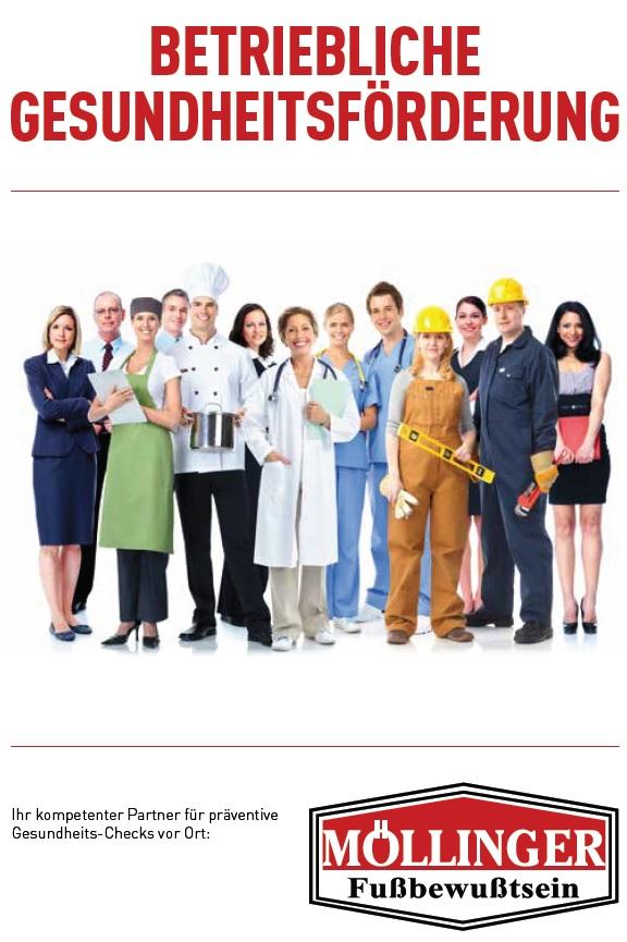Betriebliche Gesundheitsförderung | Möllinger Fußbewusstsein jwCc8